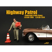 AD-77464 Highway Patrol - Collecting Traffic Cones