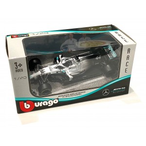 1:43 Die Cast F1 Team Mercedes AMG Petronas W10 EQ Power+ #44 Lewis Hamilton