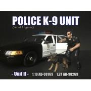 AD-38264 1:24 Police K9 Unit - Unit II