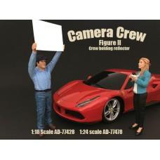 AD-77428 Camera Crew II - Crew holding reflector