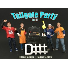 AD-77595 Tailgate Party Figure Set II