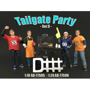 AD-77596 Tailgate Party Figure Set II
