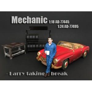 AD-77495 Mechanic - Larry taking break