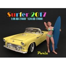 AD-77490 Surfer 2017 - Paris