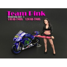 AD-77485 Team Pink - Umbrella Girl I