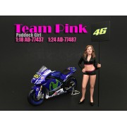 AD-77487 Team Pink - Paddock Girl