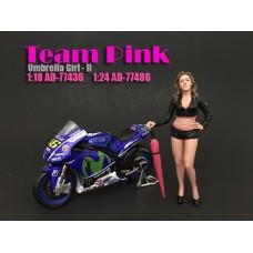 AD-77486 Team Pink - Umbrella Girl II