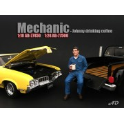 AD-77500 Mechanic - Johnny Drinking Coffee