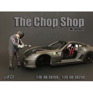 AD-38259 1:18 Chop Shop Set - Mr.Welder