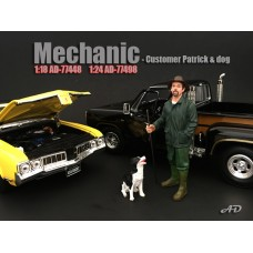 AD-77498 Mechanic - Customer Patrick & Dog