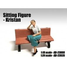 AD-23888 Sitting Figure - Kristan