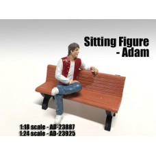 AD-23887 Sitting Figure - Adam