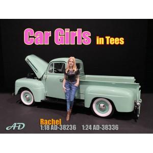 AD-38236 1:18 Car Girl in Tee - Rachel