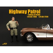 AD-77466 Highway Patrol - Talking on radio