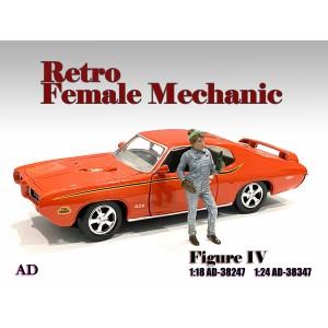 AD-38347 1:24 Retro Female Mechanic - IV