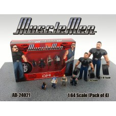 AD-24021 Musclemen (Set of 4)