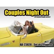 AD-23828 Seated Couple I (2 pcs)