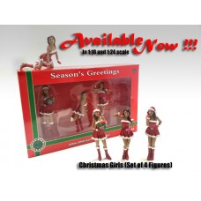 AD-23848 Christmas Girls (Set of 4)