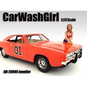 AD-23945 1:24 Car Wash Girl - Jennifer
