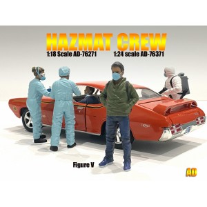 AD-76371 1:24 Hazmat Crew Figure - V