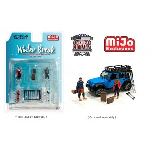 AD-76462MJ 1:64 Limited Edition Die Cast Figure Set - Winter Break