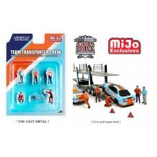 AD-76463MJ 1:64 Limited Edition Die Cast Figure Set - Team Transport Crew