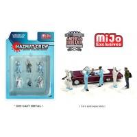 AD-76466MJ 1:64 Limited Edition Die Cast Figure Set - Hazmat Crew