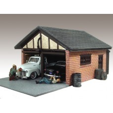 AD-51591 1:24 Double Car Garage