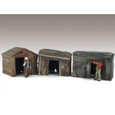 AD-51581 1:24 Hobo Shacks (Set of 3)
